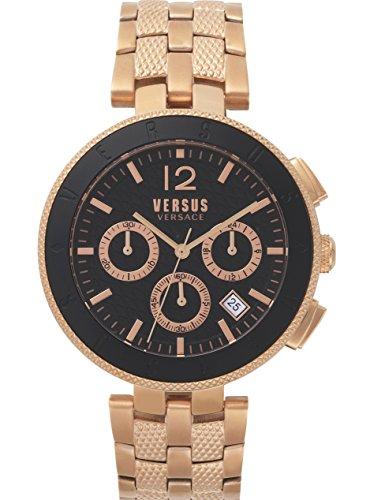 Versus by Versace Reloj Analogico para Hombre de Cuarzo con Correa en Acero Inoxidable VSP762618