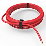 AUPROTEC Câble unipolaire 4,0 mm² FLRY-B Fil Électrique en anneau: 10m, rouge