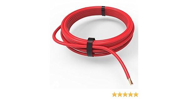 AUPROTEC Cavo unipolare 1,5 mm/² Filo elettrico ad anello Set 5 colori a 10m
