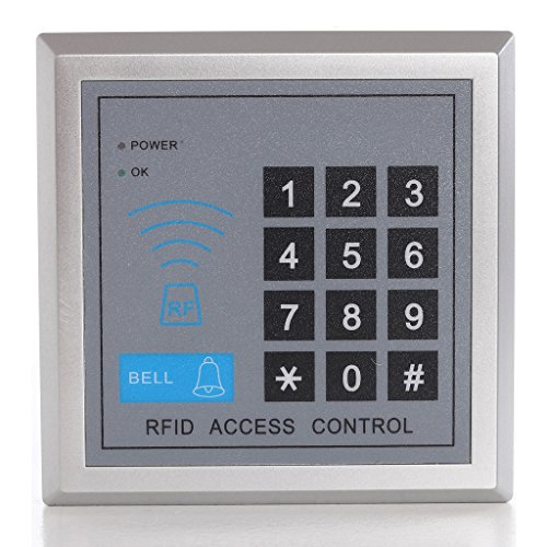UHPPOTE Vollständige komplette 125KHz EM-ID Karte 1 Tür Security Access Control Entry System Kit mit elektrischen 600Lbs 280KG Force Magnetic Lock