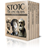 Stoic Six Pack 3 - The Epicureans: On The Nature of Things, Letters and Principal Doctrines of Epicurus, De Finibus Bonorum et Malorum, The Garden of Epicurus and Stoics vs Epicureans (Illustrated)