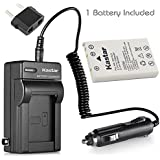 Nikon En-el5 Accessory Bundle - Premium Replacement Lithium-ion Battery + Digital Camera & Camcorder Battery Charger With Car Adapter For Nikon CoolPix P90 P100
