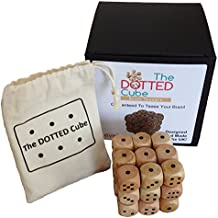 El cubo de puntos cerebro Teaser–Nivel 1–de madera cubo Puzzle, fabricado en el Reino Unido, difícil rompecabezas, puzzle en 3d, Original cerebro Teaser Puzzle caja para los niños o adultos perfecto Navidad o regalo de cumpleaños