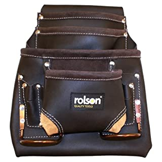 Rolson 68883 Single Oil Tanned Tool Pouch