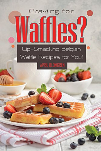 Craving for Waffles?: Lip-Smacking Belgian Waffle Recipes for You! (English Edition) Blue Double Egg Cup
