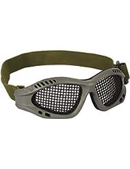 Fuerza Valle Airsoft táctico malla de Metal militares Gafas para ojos protección, hombre, verde oliva
