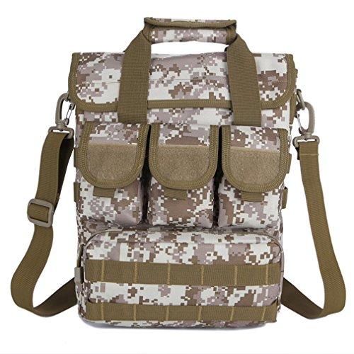 Outdoor-Freizeit-Schultersporttasche / Bergsteigen Taschen Wandern / Fotografie Computer bag / Angriff Taktik Tasche / Digital-Tarnung Tasche Camping desert