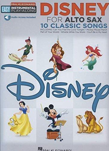 Disney for Alto Sax (Hal Leonard Easy Instrumental Play-Along)