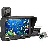 ff118d Pesca Fish Finder DVR Dual de la cámara con monitor LCD de 4,3pulgadas de 20m de cable