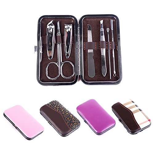 "ElectroBeeâ""¢7 in 1 Pedicure & Manicure Home Utility & Travel Accessories Kit Set"