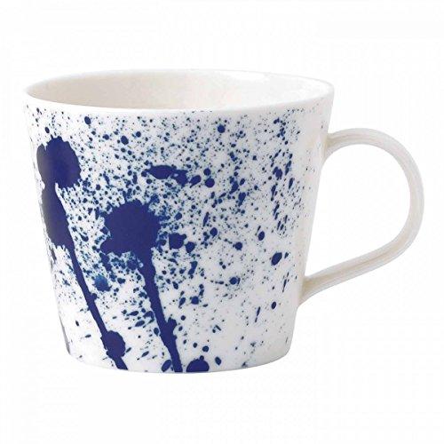 Royal Doulton - Pacific - Splash - Becher/Kaffeebecher - Henkelbecher - Porzellan - 450ml (Becher Doulton, Royal)