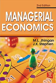 Managerial Economics by [Jhingan, M.L., Stephen, J.K.]