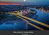 Düsseldorfer Nachtschicht (Wandkalender 2019 DIN A3 quer): Düsseldorfer Stadtansichten bei Nacht. (Monatskalender, 14 Seiten ) (CALVENDO Orte) - Alexander Gründel