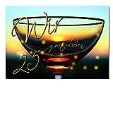 DigitalOase Glückwunschkarte 25. Geburtstag Jubiläumskarte 25. Jubiläum Geburtstagskarte Grußkarte Format DIN A4 A3 Klappkarte PanoramaUmschlag