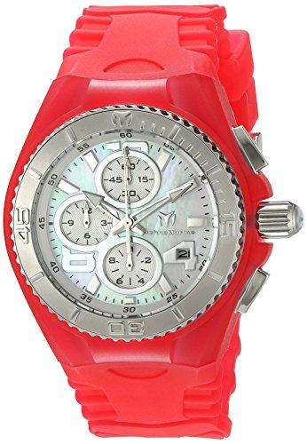 technomarine-tm-115260-orologio-da-polso-display-display-cronografo-donna-bracciale-silicone-rosa