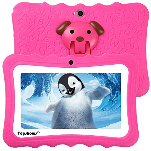 tablet per bambini 2 anni TOPSHOWS Tablet per Bambini da 7 Pollici