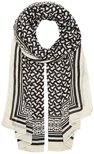 PIECES Damen Schal Pcnelly Long Scarf, Mehrfarbig (Black), One Size