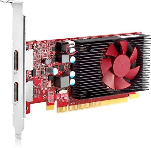 HP 3MQ82AA AMD Radeon R7 430 Grafikkarte (430-2 GB GDDR5, PCIe 3.0 x16, Low Profile, DisplayPort, für EliteDesk 800 G4, ProDesk 400 (Grafikkarte 2gb Amd)