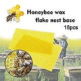 Pwtchenty Bee Hive Deep Brood Cera Fondazione Fogli di D'Api Base Nest Telaio in d'Ape Casa Profonda Beekeeping Supplies Attrezzature per Apicoltura