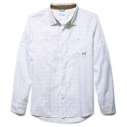 Under Armour UA Chesapeake plaid camicia a maniche lunghe Electric Blue