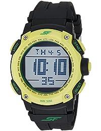 Sonata Fibre (SF) Digital Grey Dial Men's Watch-77073PP05