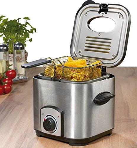 Westfalia Mini Fritteuse/Fondue Set, 1,2 Liter, 900 Watt
