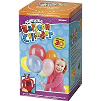 """Unique Party 80016 - Small Disposable Helium Canister to fill 30 x 9"""" Helium Balloons"""
