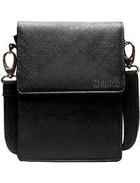 WalletLee Unisex Genuine Leather Sling Bag