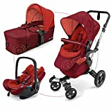 Concord 3-in-1 Kinderwagen-Set Neo Mobility, rot