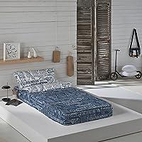 Munich Jet Jeans - Saco nórdico para cama de 90 cm (sin relleno)