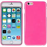 kwmobile Hülle für Apple iPhone 6 Plus / 6S Plus - TPU Silikon Backcover Case Handy Schutzhülle - Cover Pink