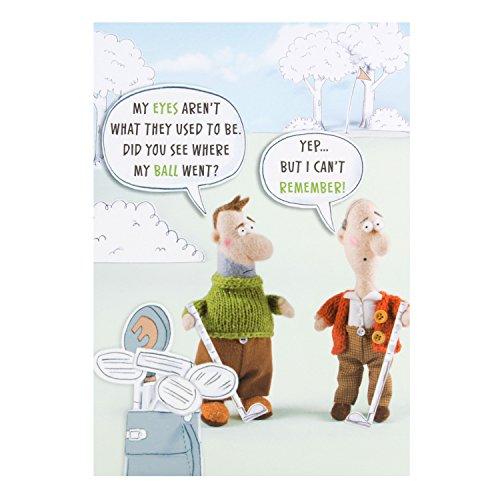 "Hallmark Funny Geburtstagskarte""Golf–Medium"
