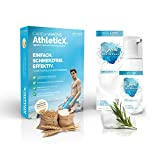SPORTS Bundle Capillum AMOVE AthleticX + No Sweat DEO SCHAUM - Schmerzfreie Dusch Enthaarungscreme...