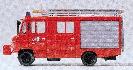 Preiser - Juguete de modelismo ferroviario Metz HO Escala 1:87 (PR35021)