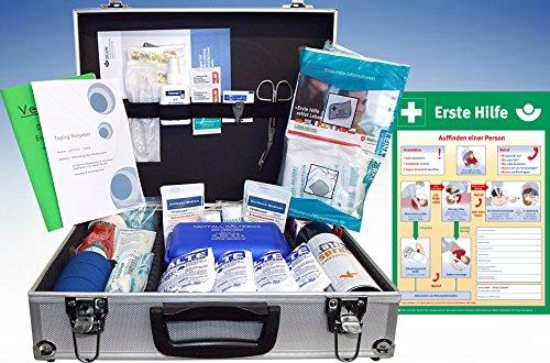 Sport-Betreuer-Koffer -Paket 2- zur Behandlung von Sport-Verletzungen INKL. AUSHANG (A3)