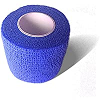 LisaCare Fixierbinde 5cm x 4,5m | 2er-Set Farbe Blau | Kohäsive Bandage | Wundverband | Pflasterverband | elastisch... preisvergleich bei billige-tabletten.eu