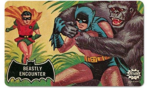 DC Comics-Retro Vintage fruehstuecksbrettchen tagliere-Batman-beastly Encounter