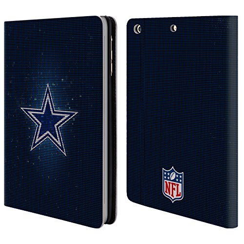 Offizielle NFL LED 2017/18 Dallas Cowboys Logo Brieftasche Handyhülle aus Leder für Apple iPad mini 1 / 2 / 3 (Cowboy-mini-taste)