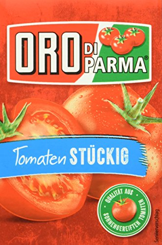 ORO di Parma Tomaten stückig, 16er Pack (16 x 400 g Packung)