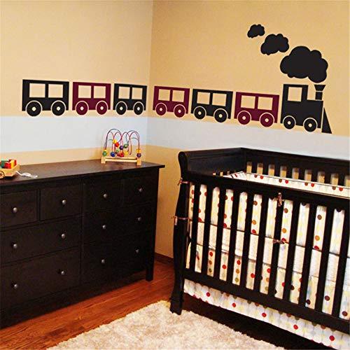 Wandaufkleber Kinderzimmer wandaufkleber 3d Choo Choo Züge Set von 7 für Wohnzimmer Schlafzimmer Kindergarten Kinder Schlafzimmer