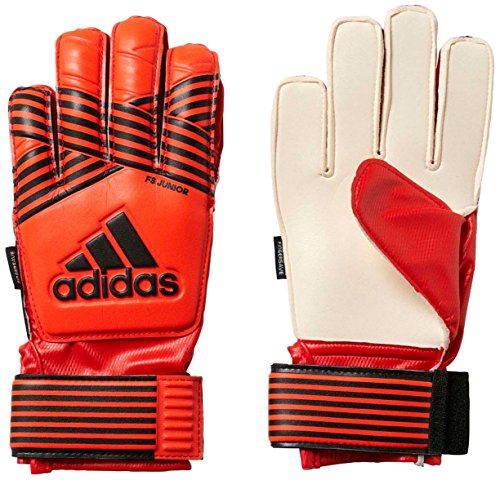 adidas Kinder ACE FS Junior Torwarthandschuhe, red orange/Solar Gold/Core Black, 5