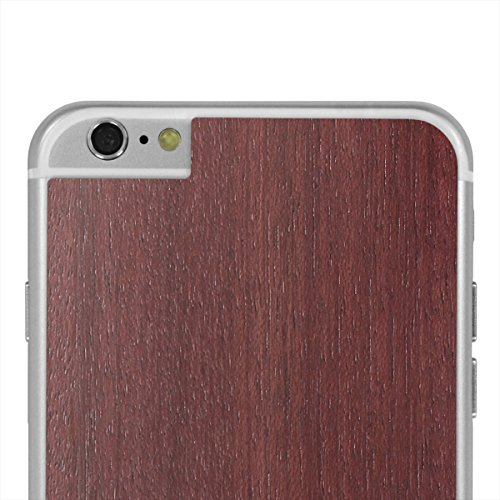 Cover-Up #WoodBack Peau de Bois Naturel pour iPhone 6 / 6s Plus - Cèdre Purpleheart