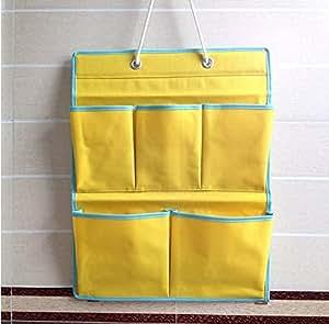 Sac de rangement de salle de bain oxford tissu multicouche for Pochette murale de rangement