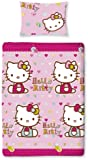 Character World Hello Kitty Folk Single Rotary Duvet Set