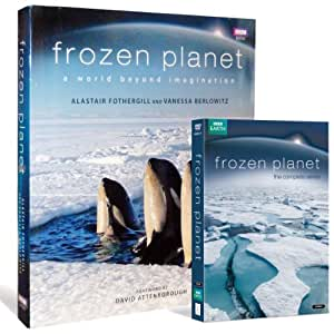 Frozen Planet and Hardcover Book Gift Set (Exclusive to Amazon.co.uk) [DVD]
