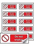 Caledonia Schilder Bremsschuhe für V nicht Ziehen Etiketten, 40mm x 18mm (10Stück)