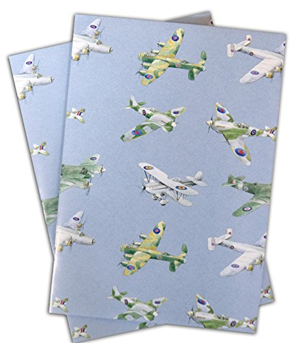 plane-airplane-aeroplane-gift-wapping-paper-2-sheets