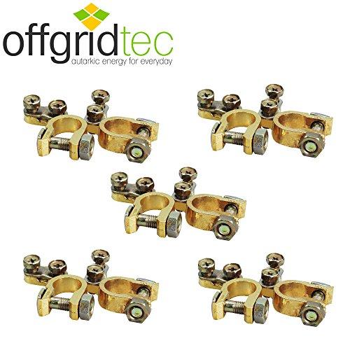 Offgridtec® Batterie Morsetti Set Plus e Minus