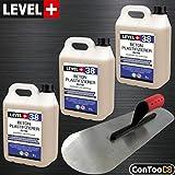 Set Beton-Zusatzmittel 15L Profi + BODENLEGERKELLE Beton Plastifizierer Fließmittel SET352