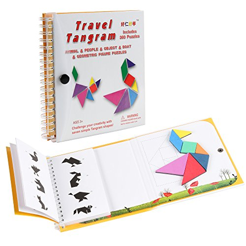 Coogam Magnetic Travel Tangram P...